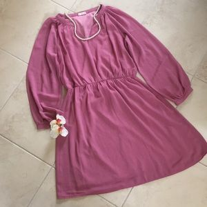Tobi peasant style midi dress , EUC, medium